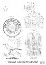 Small Picture Texas State Symbols coloring page Free Printable Coloring Pages