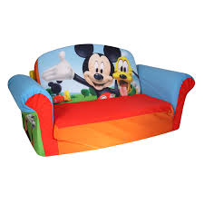 couch bed for kids. Amazon.com: Marshmallow Furniture Children\u0027s Upholstered 2 In 1 Flip Open Sofa, Disney Mickey Mouse Club House, By Spin Master: Toys \u0026 Games Couch Bed For Kids