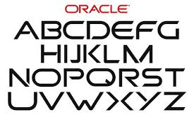 logo font making a font out of the oracle logo logoblink com