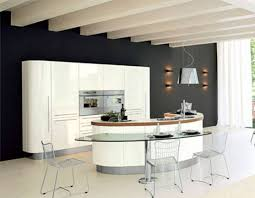 Kitchen Island Modern Kitchen Modern Curved Island Eiforces