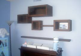 Max Baby Room custom alder floating shelves and boxes fibonacci ratio  scaling with size and depth