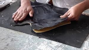 how to make shoes leather lining pasting on upper tutorial