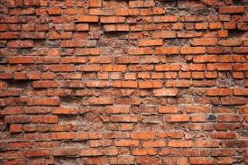 old red brick wall wall mural brick