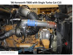 cat c 15 acert single turbo conversion kit kenworth t800 cat c15 single turbo conversion