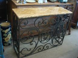 rot iron furniture. Console Table Wrough Iron Rot Furniture