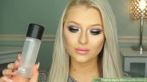 image led apply makeup like barbie step 18