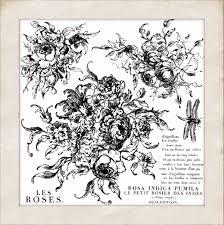 Iron Orchid Designs Iron Orchid Designs Rose Toile Decor Stamp Dec Sta Ros