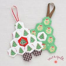 245 Best Quilted Christmas Crafts Images On Pinterest  Christmas Quilted Christmas Crafts
