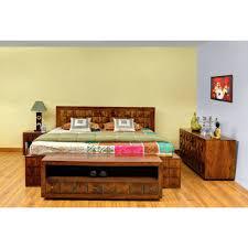 Sheesham Bedroom Furniture Sheesham Wood Bed Solid Wood Diamond Bed With Storage Royal
