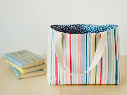 Tote Bag Pattern Delectable How To Make A Tote Bag Easy Sew Ideas For A Custom Bag HGTV