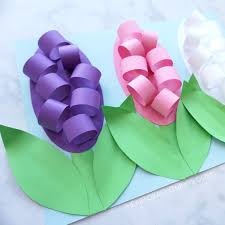 How To Make A Beautiful Flower With Paper How To Make Paper Hyacinth Flowers I Heart Crafty Things
