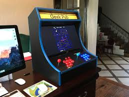 4 Player Arcade Cabinet Kit Build A Retropie Bartop Arcade Cabinet The Geek Pub