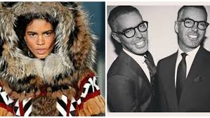 dsquared2 designers dean and dan caten came under fire last year for their collection called dsquaw left facebook right twitter hudson s bay