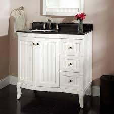White 36 Bathroom Vanity Without Top • Bathroom Vanities