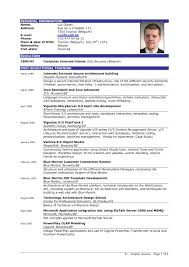 What A Good Resume Looks Like Example Of Good Resume Revolutionary Concept The Best And Template 9