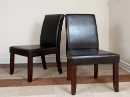 leather parsons dining chairs parsons dining chairs best of faux leather parsons dining room chairs home