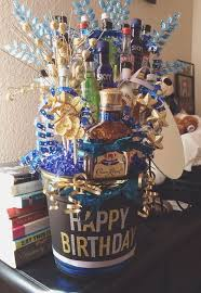 best 25 21st birthday basket ideas