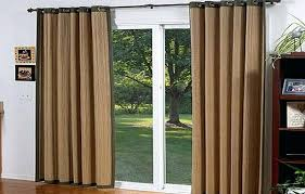 window treatments for sliding glass doors ideas sliding glass door curtain ideas apartment therapy pictures of