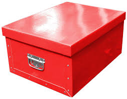 Decorative Cardboard Storage Boxes With Lids Organiser boxes Decorative Handbox Cardboard Storage Box Rosso Red 99