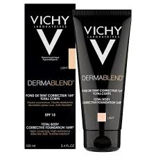 vichy dermablend total body corrective foundation light