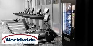 Gym Vending Machines Inspiration Cashless Gym Vending For Small Gyms What's New In Gym Vending