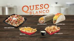 del taco dumps the cheese pump and upgrades to premium queso blanco