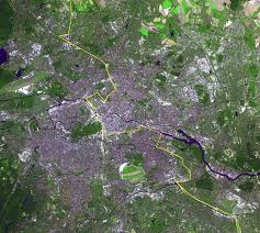 large detailed satellite map of berlin city with berlin wall Satellite Map Of Germany large detailed satellite map of berlin city with berlin wall satellite map germany
