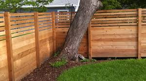 Cedar Wooden Privacy Fence Panels