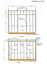 office shed plans. 10x12 lean to storage shed plans elevation office