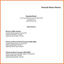 How To Salary History 15 Resumes With Salary History Sample Paystub