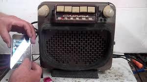 1946,47,48 Chevy Pickup Truck Original AM radio - YouTube