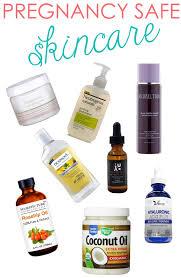 pregnancy safe skincare