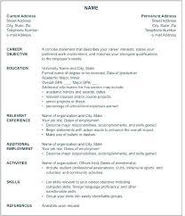 American Resume Format Impressive American Resume Format 48 Ifest