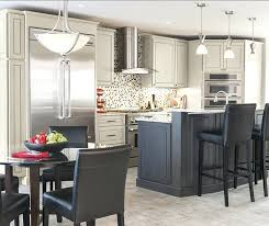 dark gray kitchens light kitchen cabinets in grey stone with island storm white granite countertops pictures