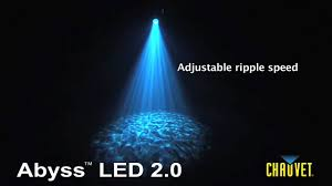 Led Water Lights Chauvet Abyss Led 2 0 Water Effect Light