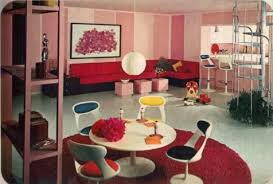 Interior design in the 1960s ...