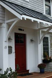 diy door awnings front door awning 2 add new look to your exterior by using diy