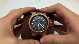 michael kors rose gold dylan chronograph mens watch michael kors rose gold dylan chronograph mens watch