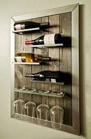 wine racks wall mounted wrought iron 180 best wall wine racks images on