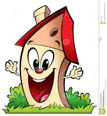 New Home Cartoon Images Happy Cartoon Home Stock Illustration Illustration Of