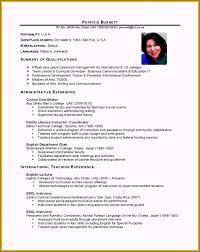 Business Student Resume Template Creative 18 Cv English