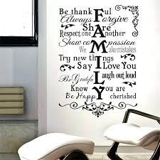 wall sayings family sayings wall art inspiration e family warm happy share sayings home decor wall wall sayings