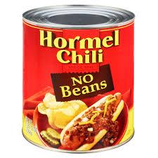 hormel chili can. Modren Chili Inside Hormel Chili Can