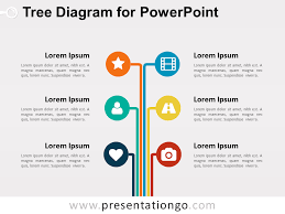 tree diagram powerpoint tree diagram for powerpoint presentationgo com