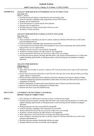 Amazon Resume Example Amazon Web Services Resume Samples Velvet Jobs 2