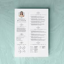 Modern Resume Template Oddbits Studio Free Download 5 Page Resume Template Cv Template Pack Cover Letter For Word