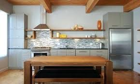 One Wall Kitchen Designs With An Island Plans Awesome Design Inspiration