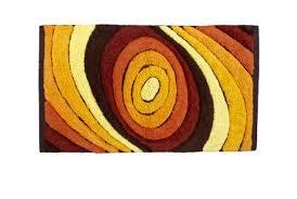 Target Bagno 2 : Tappeto drops di cipì in cotone con tessitura rilievo da