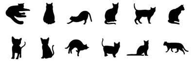 黒猫の無料イラスト集可愛い系 かっこいいオシャレ系タイプ別に
