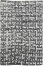 geometric rug pattern. Modern Geometric Pattern Rugs Gallery: Interconnection, Rug, Hand-knotted In Rug